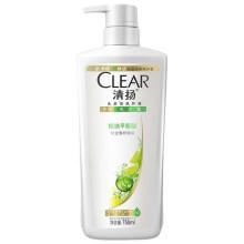 清扬(CLEAR)洗发水 女士去屑洗发露 控油平衡型750g【联合利华】
