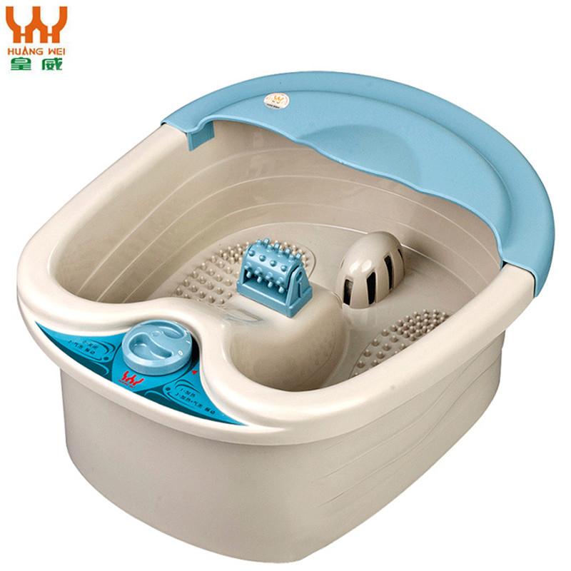 皇威(HUANG WEI) 智能养生足浴盆 H-8107A 自动加温 加热泡脚盆 搓脚按摩