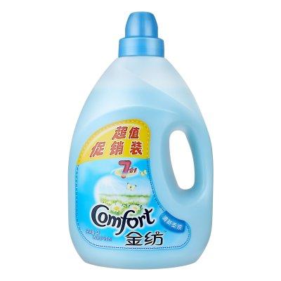 金纺清新柔顺衣物护理剂4L(新老包装随机发货)