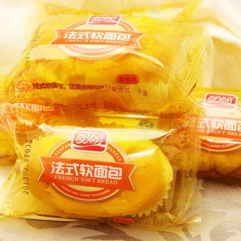 盼盼 法式软面包(香橙味)200g图片
