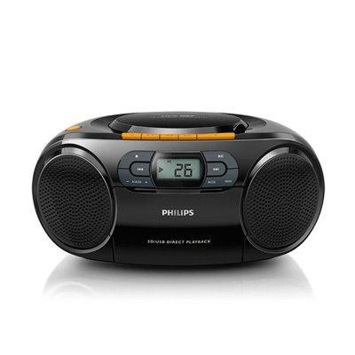 飞利浦(Philips) AZ329/93 CD机 磁带机 卡带机 学习机 胎教机 收录机 收音机 教学机 USB播放器