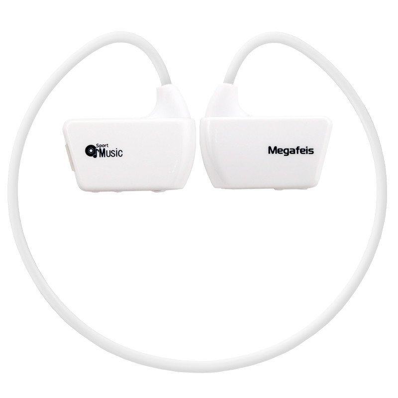 麦格菲斯头戴式运动MP3 E30(8G)白色
