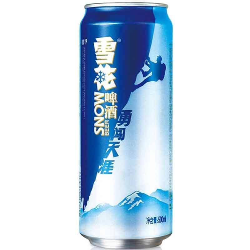 雪花啤酒 勇闯天涯500ml*12听整箱装
