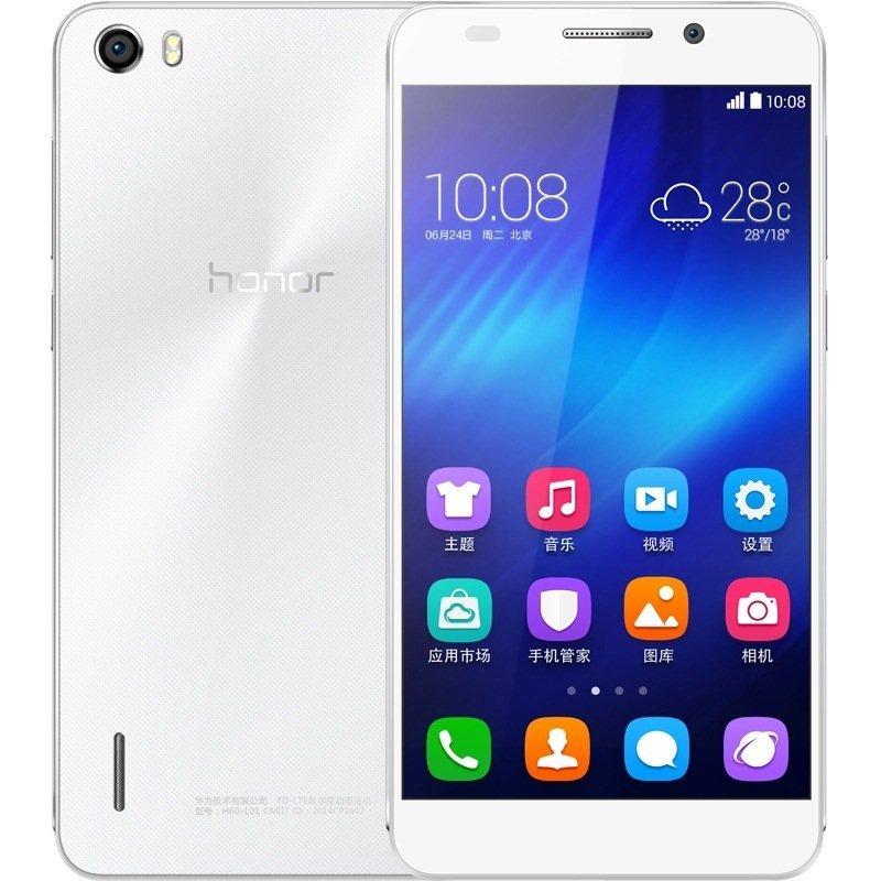 华为手机荣耀6移动4G(H60-L01)(16GB)(白)