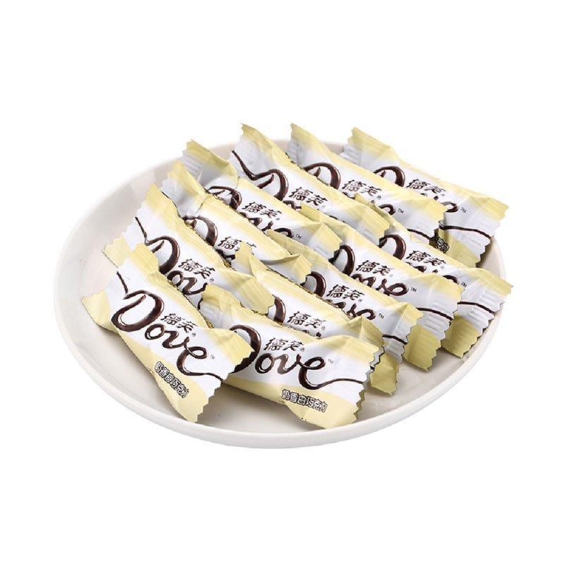 德芙 奶香白巧克力(分享装) 84G/袋