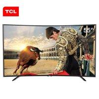 TCL L55H8800A-CF 55英寸 曲面高色域 丰富在线影视 八核安卓智能LED电视