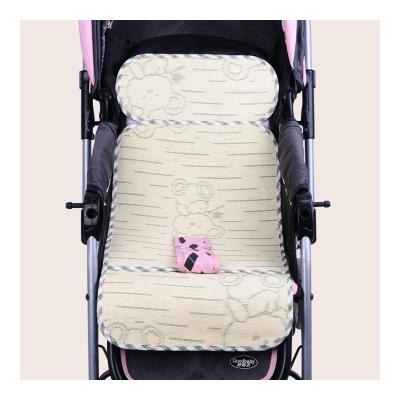【苏宁自营】龙之涵3D竹炭车席 婴儿手推车车席 宝宝安全座椅凉席子