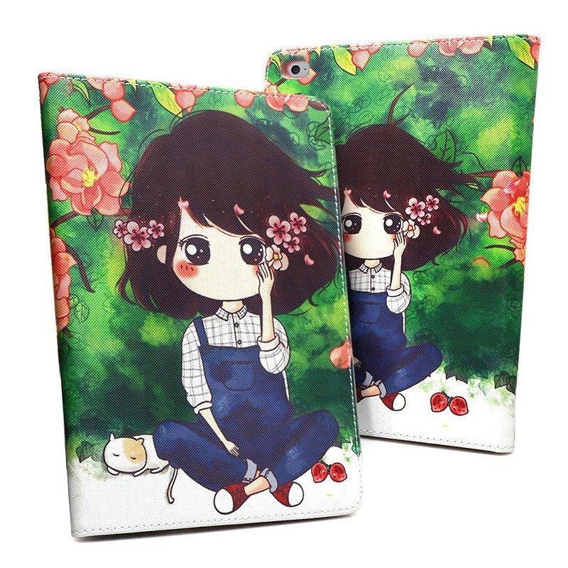 魅爱琳 ipadmini3保护套 卡通小薇 mini2保护壳 迷你外壳 苹果平板