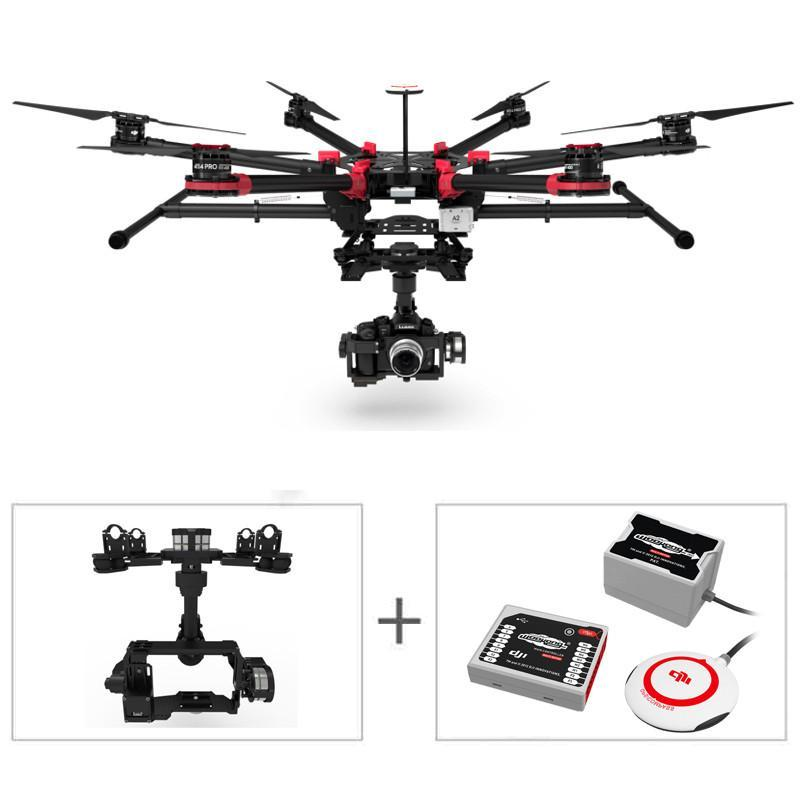 大疆(DJI) S900 专业六轴航拍飞行器/航拍飞机 S900+WKM+Z15