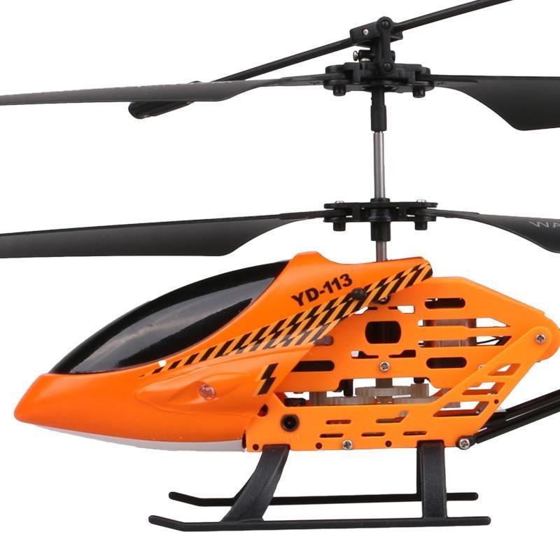 雅得金斑蝶儿童玩具飞机 超耐摔遥控飞机直升机yd-113