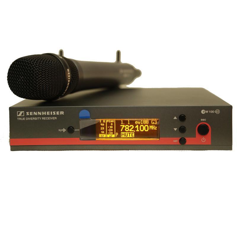 森海塞尔ew100-945g3 无线手持话筒
