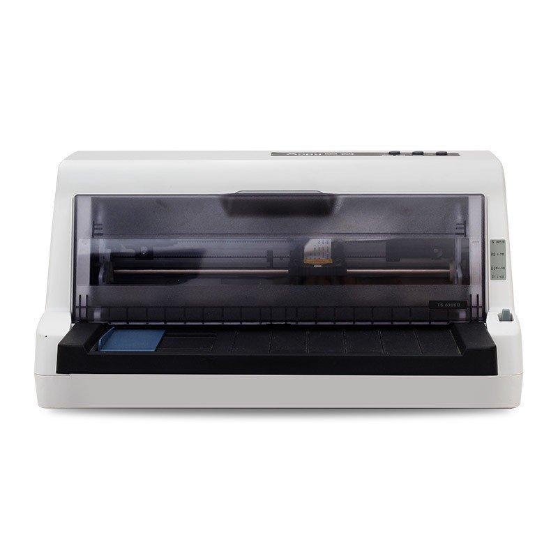 奥普 LQ-630KII 快递单专用针式打印机 82列平推式 支持快递单连打