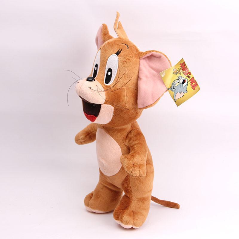 宝诚达 新品可爱汤姆猫杰瑞鼠毛绒玩具公仔猫布娃娃儿童礼物 站姿鼠约