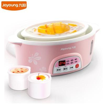 九阳(Joyoung)DGD16-03BS 白瓷电炖锅预约 隔水炖电炖盅煮粥煲汤锅