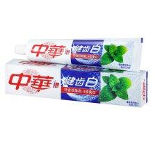 中华健齿白清新薄荷味牙膏200g【联合利华】