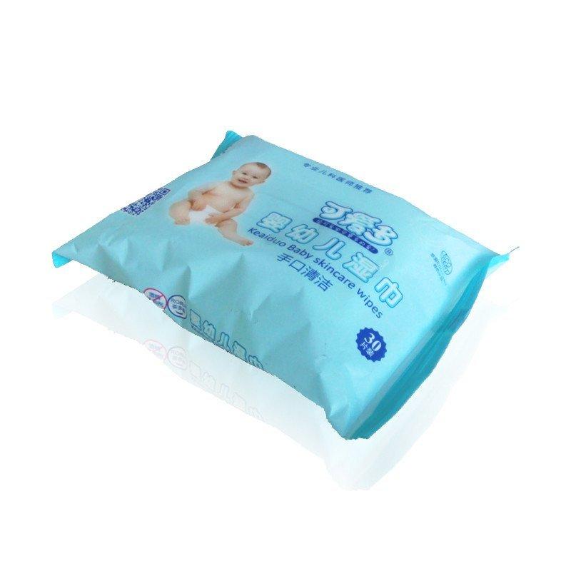 可爱多婴儿手口清洁柔湿巾30抽便携装