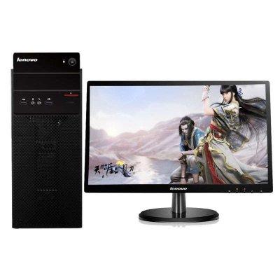 联想(Lenovo)扬天商用T4900d台式电脑 19.5WLED(I5-7400 4G 1T 1G独显 刻录)