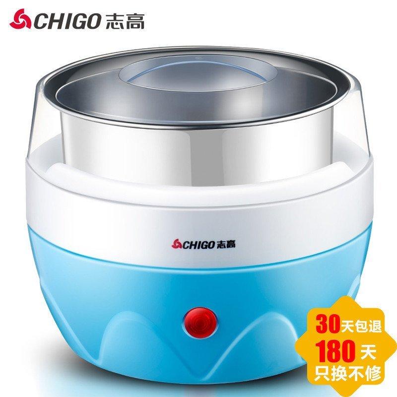 志高(CHIGO)SNJ218-N18 酸奶机米酒 1L不锈钢内胆 蓝色
