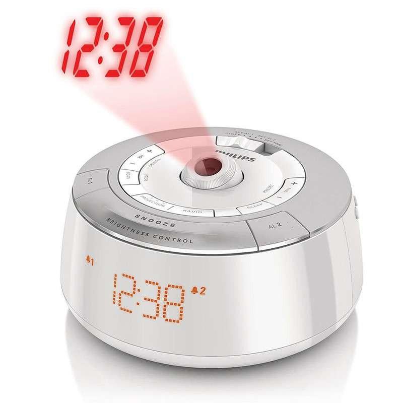 飞利浦 (PHILIPS) AJ5030/93 创意投影双闹钟收音机
