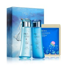 珀莱雅(PROYA)早晚水漾早晚水110ml双瓶组合装 爽肤水 早晚分时补水 精准补给水分