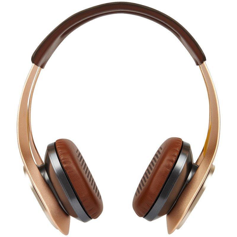 赛尔贝尔(SYLLABLE) G700-003 艾弗森纪念版 金属质感潮品 头戴式蓝牙耳机 香槟金色