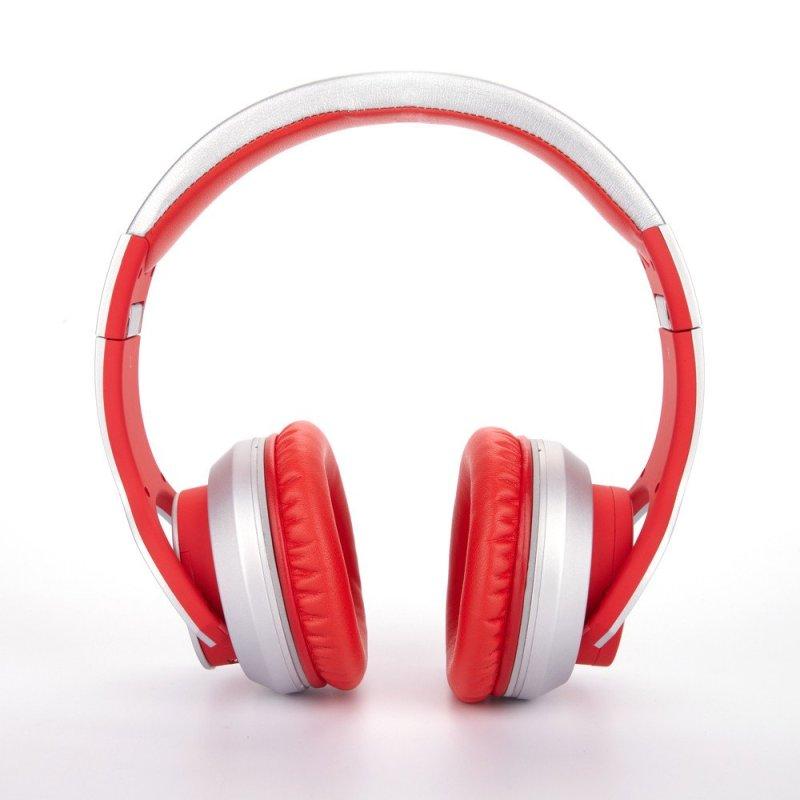 赛尔贝尔(SYLLABLE) G800-006 头戴式蓝牙4.0耳机 重低音双重降噪 火焰红色