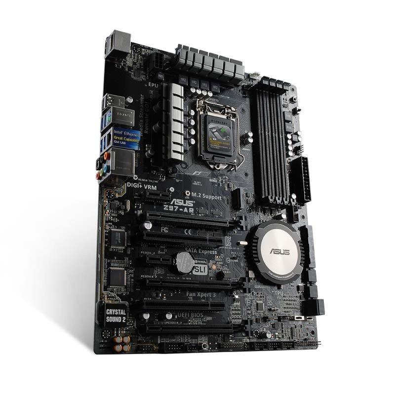 Asus/华硕 Z97-AR 黑金版 游戏大板 台式机电脑主板
