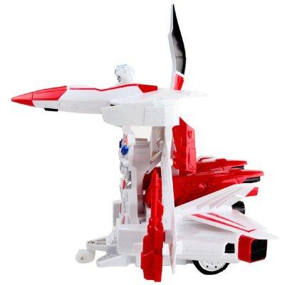美致 遥控车一键变形遥控变形机器人充电动正版玩具汽车 1:14天行者