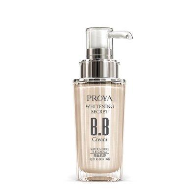 珀莱雅(PROYA)靓白肌密超名模 清爽 控油 平衡BB霜(明亮色)40ml防晒乳液 PA++ 女性各种肤质