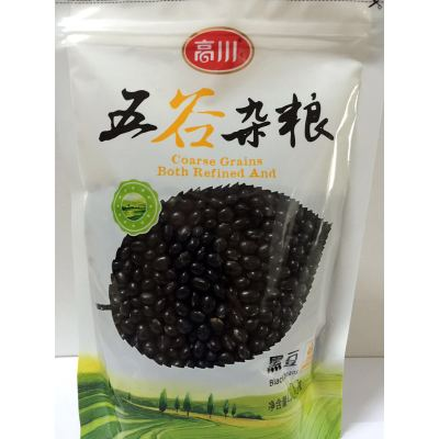 高川黑豆400g/袋 五谷杂粮 非有机袋装农家黑豆