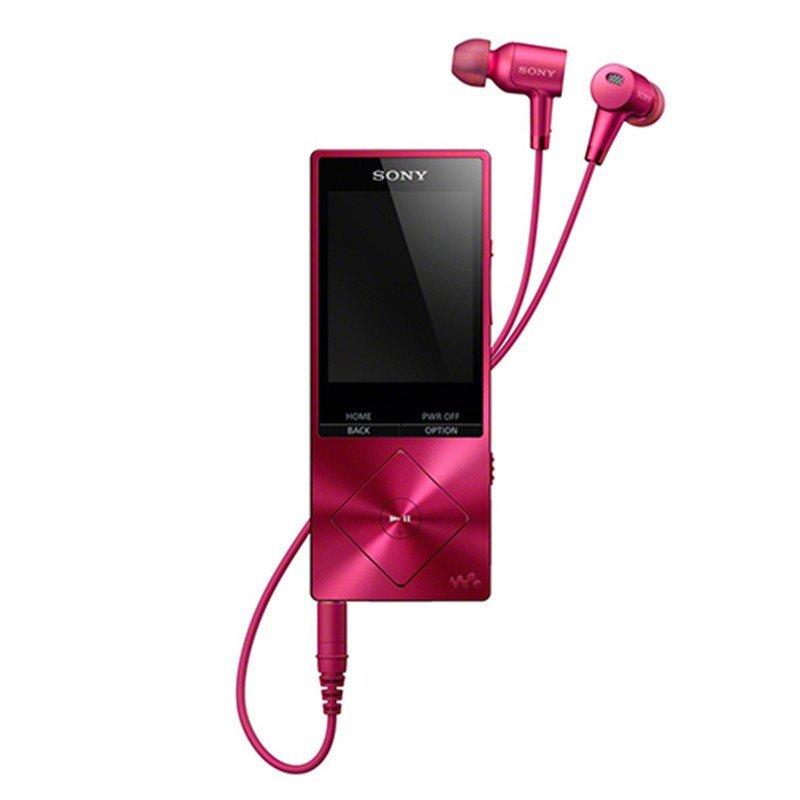 索尼(SONY)高解析度音乐播放器NW-A25HN(波尔多红色) 数字降噪 MP4音乐播放器