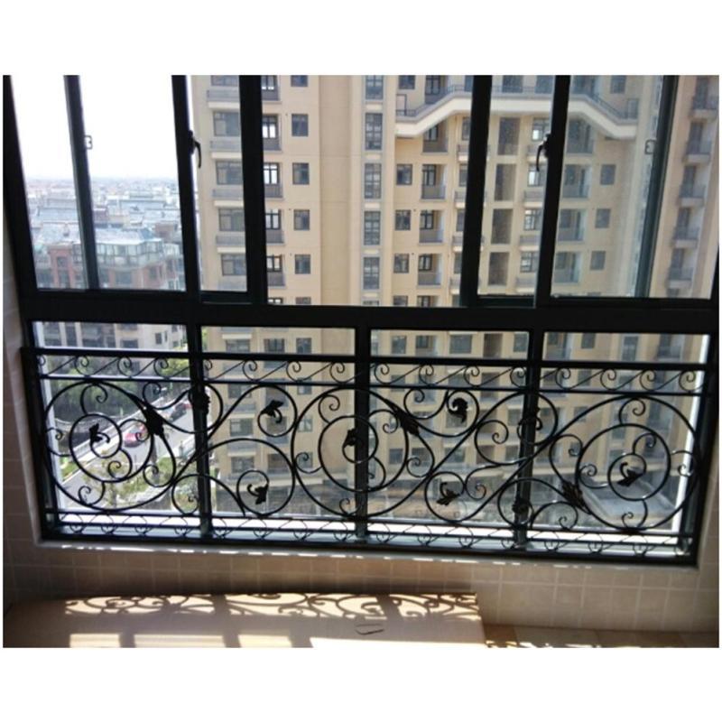 傲阳台护栏围栏飘窗护栏铁艺花园创意欧式别新别墅流星花园图片