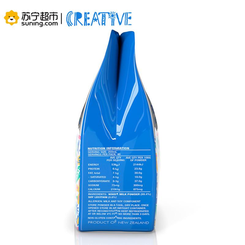 多恩瑞福全脂奶粉1公斤袋装