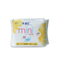 ABC 亲柔立围 日用 超级棉柔表层 迷你卫生巾(含KMS健康配方)