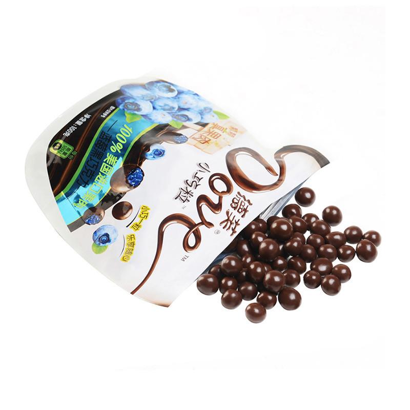 德芙 蓝莓黑巧克力100g/袋