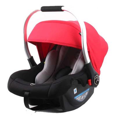 【苏宁自营】瑞贝乐(REEBABY)汽车儿童安全座椅 婴儿提篮 (0-12个月) 活力红