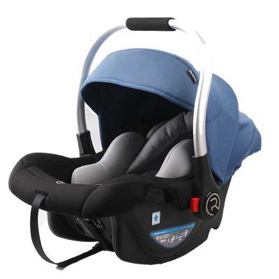 【苏宁自营】瑞贝乐(REEBABY)汽车儿童安全座椅 婴儿提篮 (0-12个月) 博学蓝