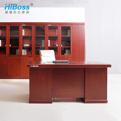 HiBoss办公桌油漆班台电脑桌