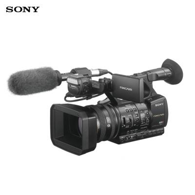 索尼(SONY)HXR-NX5R專業數碼攝像機 高清手持式攝錄一體機 約207萬有效像素 3.5英寸顯示屏