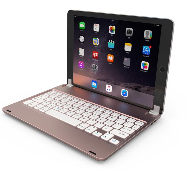 索士 苹果iPad Air2\/air\/pro9.7寸蓝牙键盘带背光