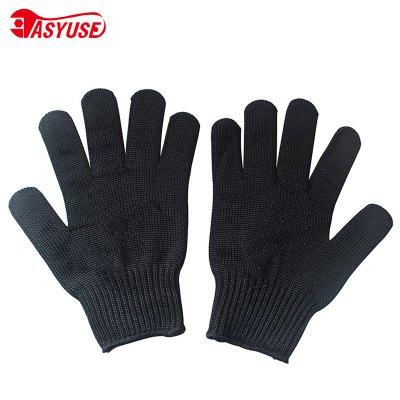 防割手套钢丝手套 5级防切割防刺防刀扎防利刃手套 防身耐磨手套