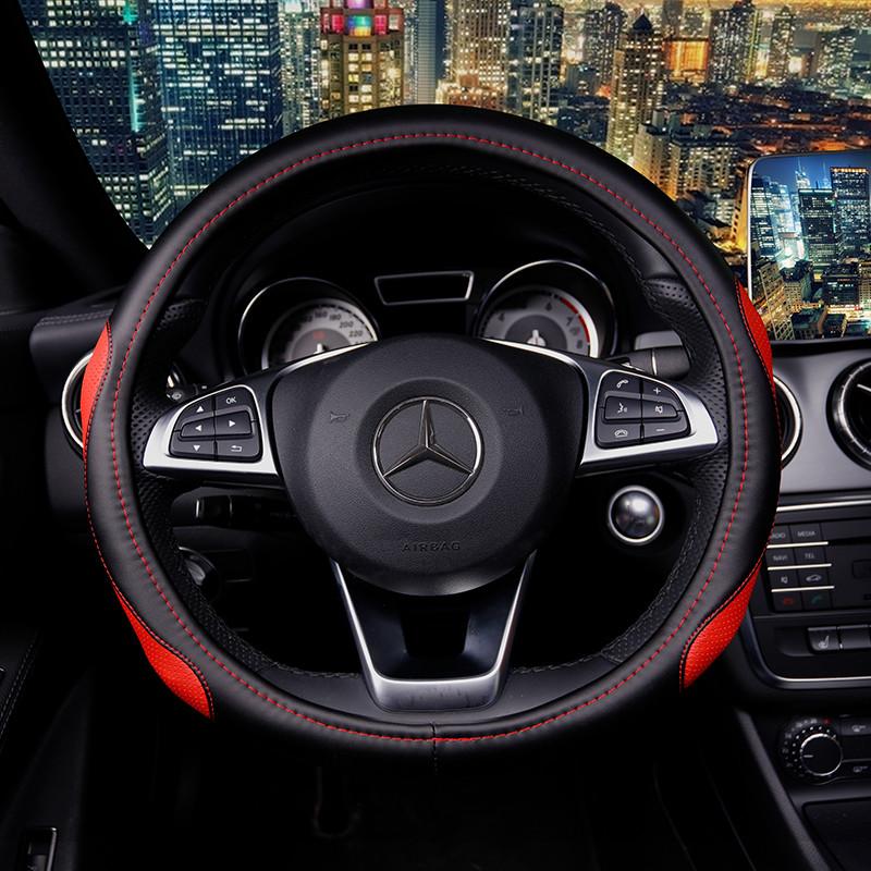 汽车方向盘套 f1602 时尚动感-红色