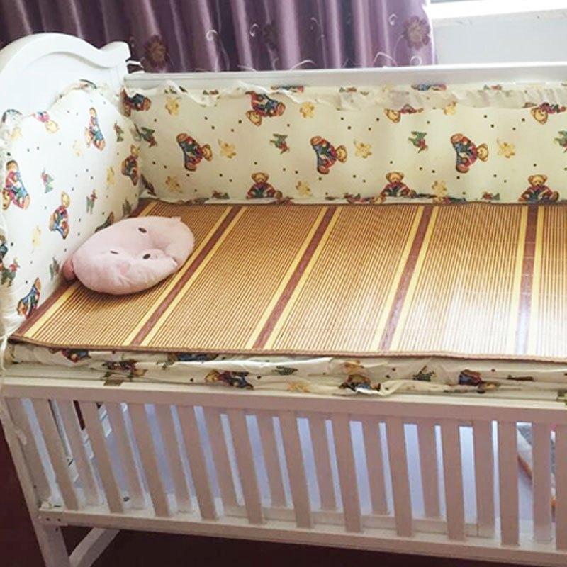 双面可用夏季学生凉席儿童竹席幼儿园午睡席婴儿床竹凉席宝宝凉席家居