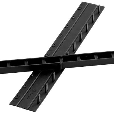 馳鵬(CHI PENG)5mm黑色裝訂夾條100根/盒塑料壓條梳式膠圈裝訂夾邊條十孔夾條 裝訂條裝訂壓條裝訂耗材裝訂機