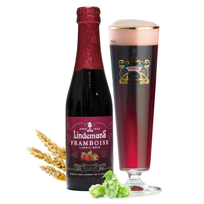 林德曼山莓啤酒250ml*6瓶