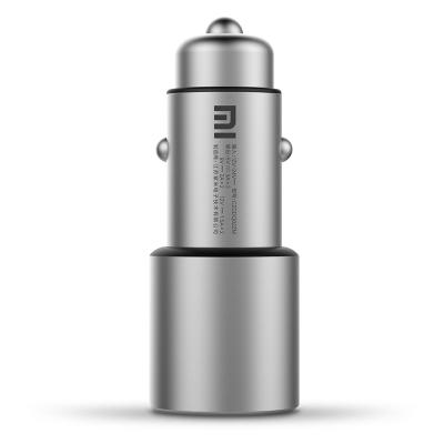 小米(MI)车载充电器快充版 QC3.0 双口输出 智能温度控制 5重安全保护