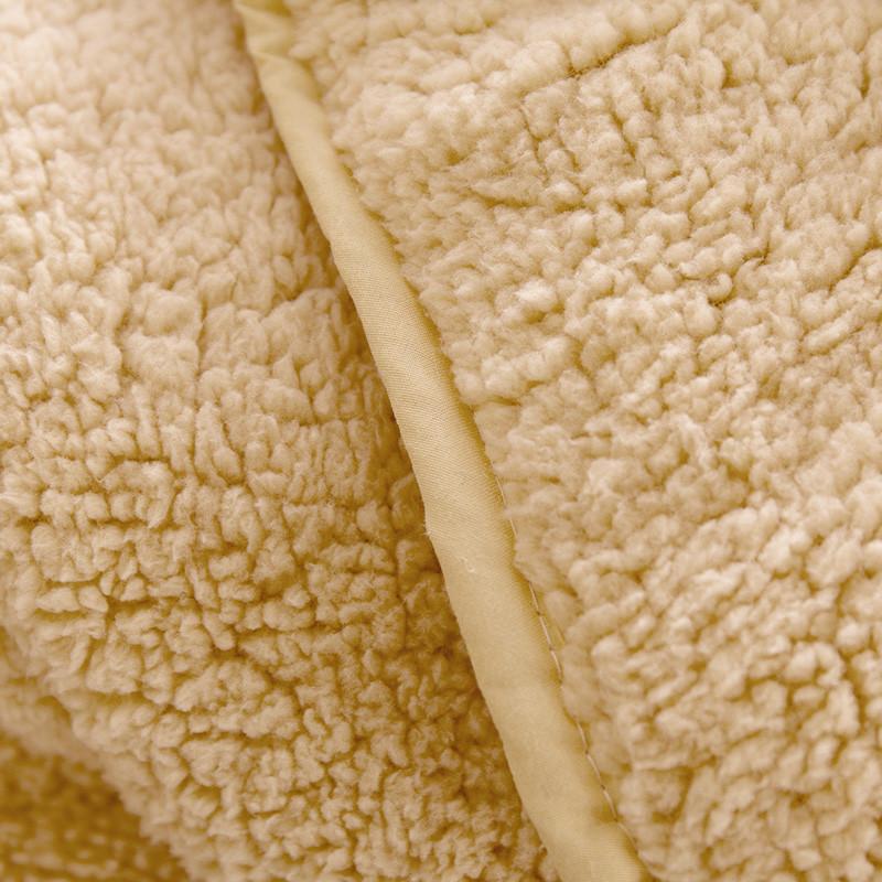 迎馨 床品家纺 羊羔绒被子 加厚保暖冬被被芯 单人 150*200cm 单人