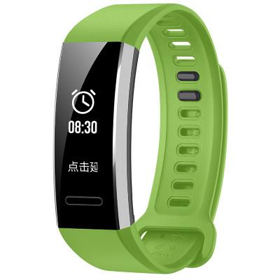 华为运动手环表带绿色