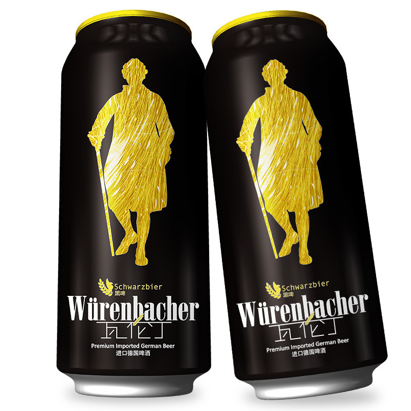 瓦伦丁黑啤酒500ml*12听礼盒
