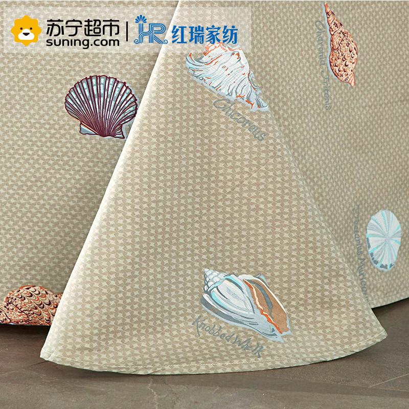 【苏宁超市】红瑞家纺 纯棉床单 精梳全棉单人/双人床单 230*250mm 多伦多